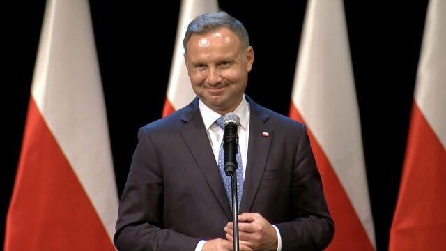 Andrzej Duda o oczyszczaniu rzek