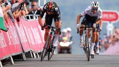 Wout van Aert odzyskał prowadzenie w Tour of Britain. Znów pokazał moc