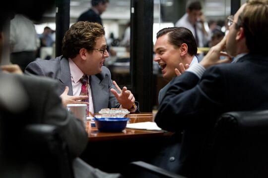 Jonah Hill i Leonardo DiCaprio