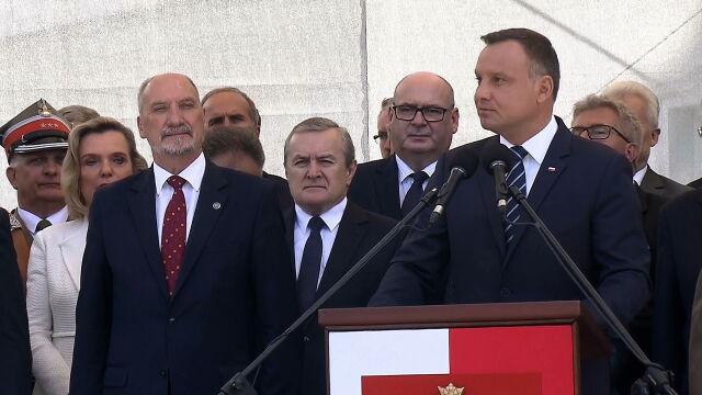 Prezydent Duda: to armia Rzeczpospolitej Polskiej, to nie jest niczyja armia prywatna