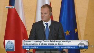 Porażka rządu Tuska (TVN24)