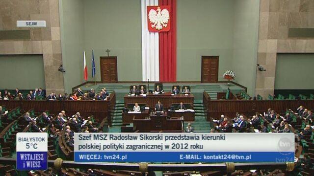 Radosław Sikorski o suwerenności (TVN24)