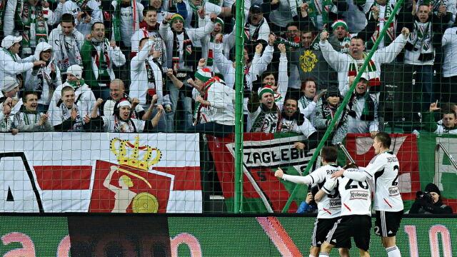 Legia obijała słupki i poprzeczkę, ale jednak pokonała Zagłębie