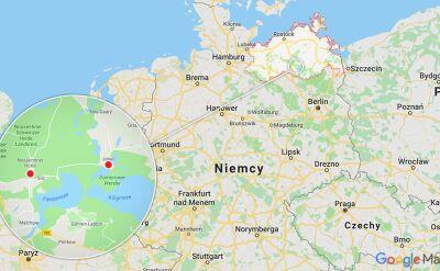 Do zderzenia myśliwców doszło nad krajem związkowym Meklemburgia-Pomorze Przednie