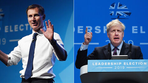 """Hunt wzywa Johnsona do debaty. """"Unikanie rozmowy twarzą w twarz to tchórzostwo"""""""