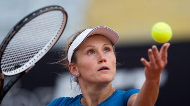 Katarzyna Kawa bliżej drabinki głównej Wimbledonu