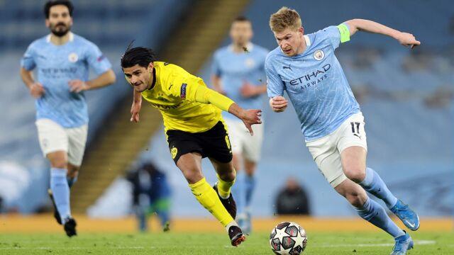 Borussia postawiła się w Manchesterze. I tak wraca z niczym