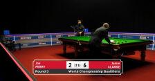 Clarke awansował do 4. rundy kwalifikacji do MŚ w snookerze