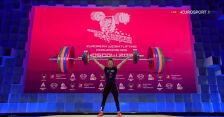 Toma z rekordem Europy w rwaniu w kategorii do 64 kg w ME