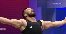 Ismailow liderem po rwaniu w kategorii do 73 kg w ME w podnoszeniu ciężarów