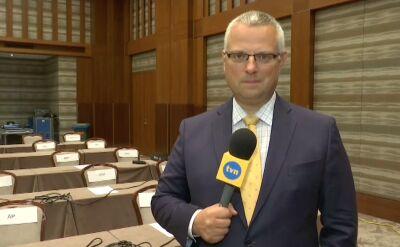 Centrum prasowe Białego Domu w Warszawie gotowe