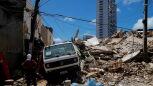 Siedmiopiętrowy budynek zawalił się w Brazylii