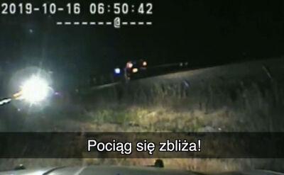 """""""Musisz się wydostać! Zbliża się pociąg!"""""""