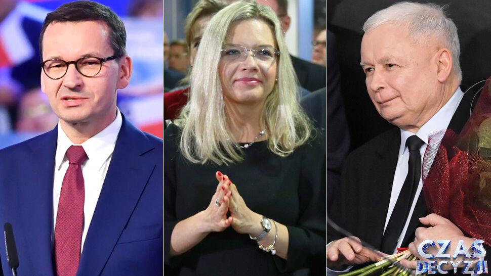 Według sondaży PiS wygrał niedzielne wybory parlamentarne