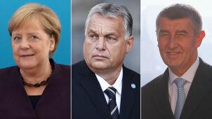 Gratulacje od Merkel, Junckera i szefów rządów V4 po wyborach