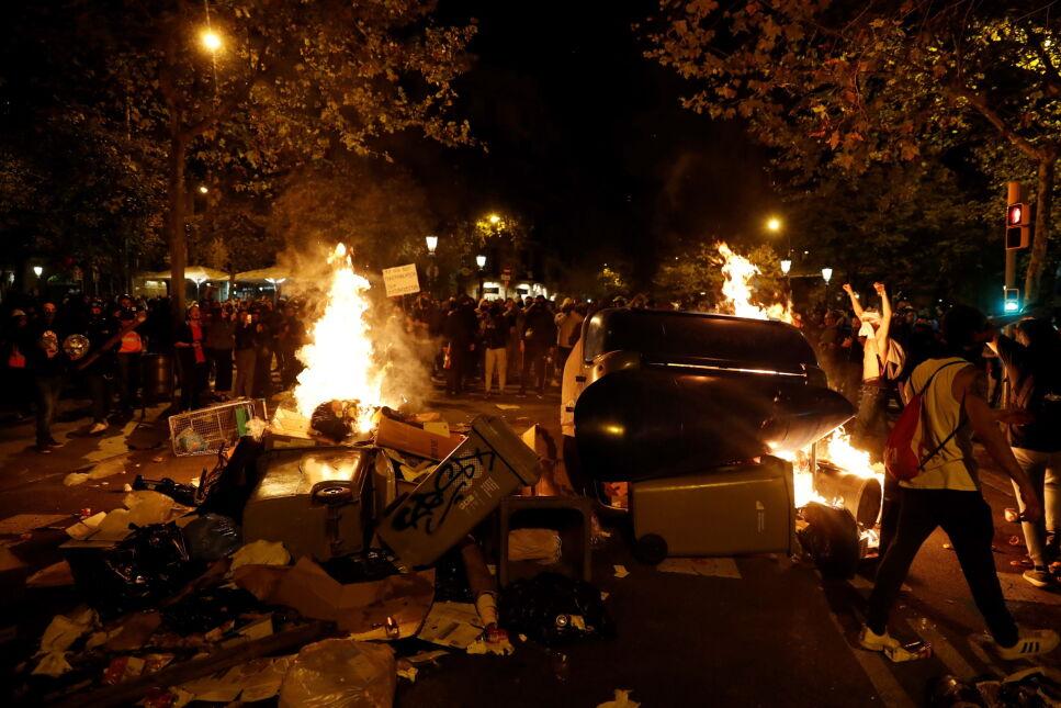Zamieszki w Barcelonie