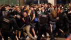 Starcia na ulicach Barcelony