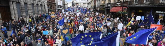 """""""Na ulicach Londynu są dziesiątki tysięcy ludzi, którzy chcą people's vote"""""""