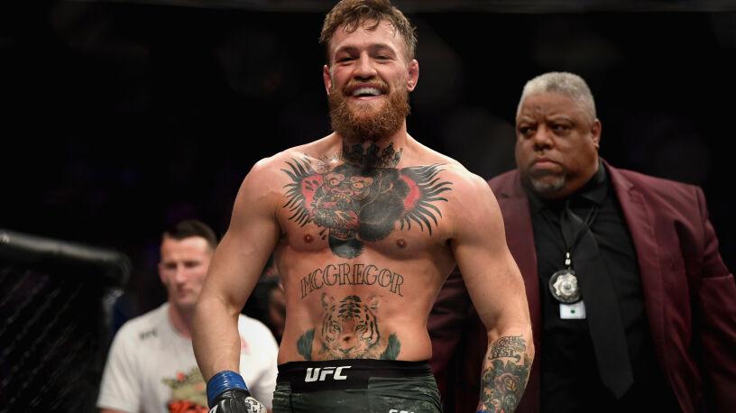 """McGregor złożyłżyczenia i zaprosiłdo walki. """"Gaża na cele charytatywne"""""""