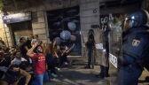 Zamieszki na ulicach Barcelony