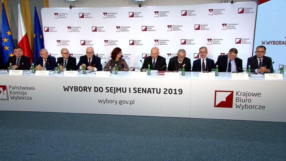 PKW o wynikach wyborów do Sejmu