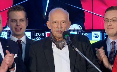 Niespodzianka wyborów parlamentarnych. Do Sejmu wchodzi Konfederacja