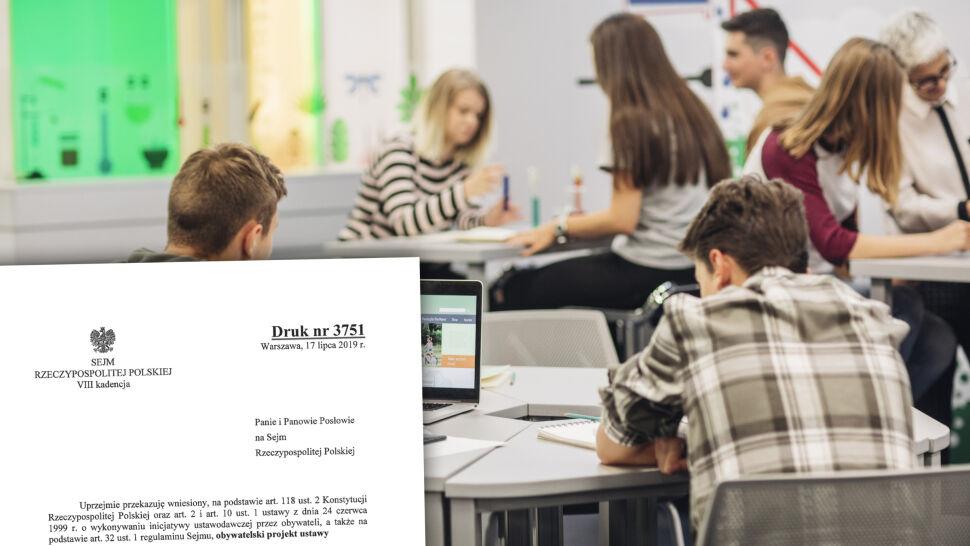 Kara więzienia za edukację seksualną? Projekt  i głosowanie w Sejmie, potem manifestacje