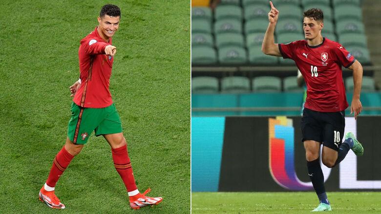 Tyle samo goli, ale jeden król strzelców. Dlaczego Ronaldo ma przewagę nad Czechem?
