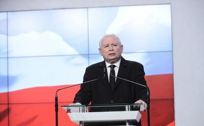 Jarosław Kaczyński o lotach ówczesnego premiera Donalda Tuska