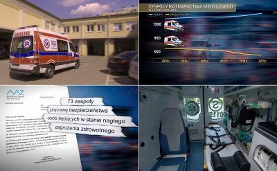 Szpitale mają problemy z obsadzaniem lekarzy do karetek pogotowia