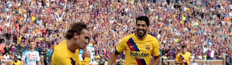 Barcelona rozbiła Napoli w 15 minut. Zieliński