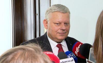Suski: pismo w sprawie kandydatury na marszałka Sejmu już napisane