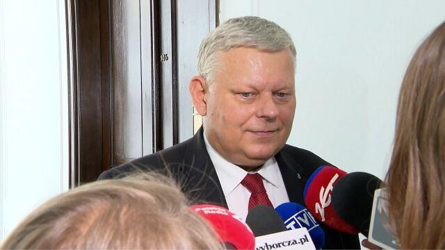 Suski: Elżbieta Witek jest świetną kandydatką na marszałka Sejmu