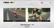 Niebezpieczna sytuacja na trasie 3. etapu Tour de Pologne. Ackermann zrugał motocyklistę
