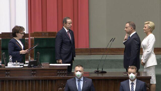 Andrzej Duda rozpoczął swoją drugą prezydencką kadencję