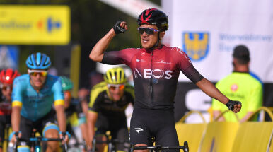Zwycięzca zeszłorocznego Giro pierwszy w Bielsku-Białej. Aktywni Polacy