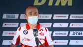 Kubica po niedzielnym wyścigu na torze Spa w serii DTM