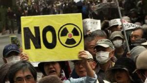 """""""Sayonara energio jądrowa"""". Demonstracje przed rocznicą Fukushimy"""