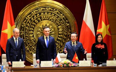Andrzej Duda w wietnamskim parlamencie