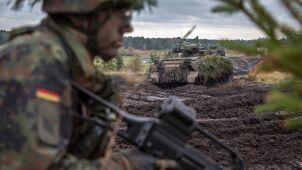 Dpa: trzy razy więcej niemieckich żołnierzy w ćwiczeniach NATO