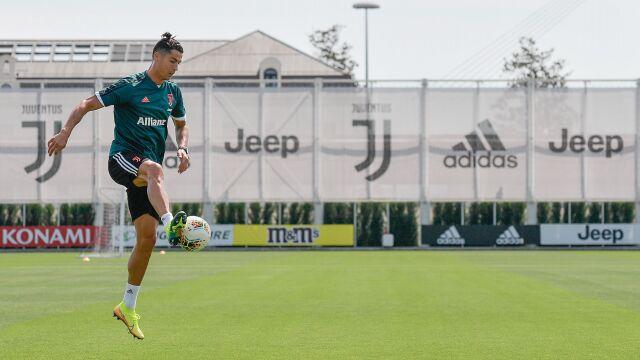 Ronaldo trenuje w specjalnych butach. Mają dać mu przewagę nad rywalami