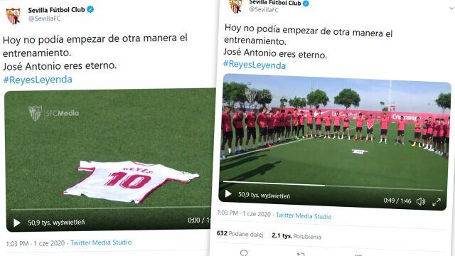 """""""Jose Antonio, jesteś wieczny"""". Piękny hołd Sevilli rok po śmierci Reyesa"""