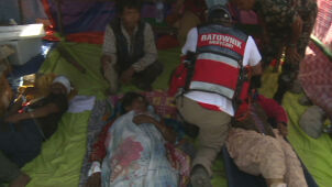 Polscy strażacy wracają z Nepalu. Zostawią namioty i żywność