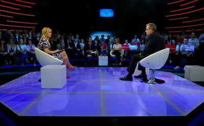 """""""Debata. Czas Decyzji"""". Bronisław Komorowski o polityce społecznej i gospodarczej"""
