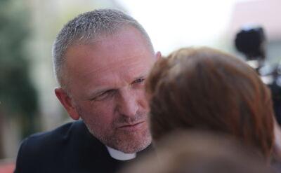 """Rzecznik diecezji: ostrzeżenie dla ks. Lemańskiego. """"To próba ratowania jego kapłaństwa"""""""