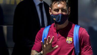 Messi ma problem z kostką. Został w Argentynie