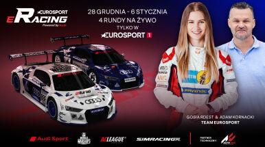 Znamy uczestników Audi Eurosport eRacing by Assetto Corsa. Gwiazdy w teamie Eurosportu