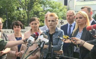 Joanna Scheuring-Wielgus o pakcie solidarnościowym