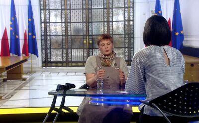 Ochojska: protestujący znosili w Sejmie ogromny trud