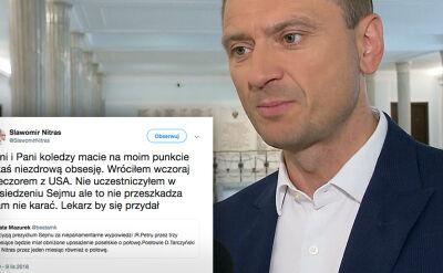 Sejm ukarał posłów Petru, Tarczyńskiego i Nitrasa